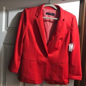 🔥The Limited casual red blazer